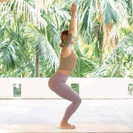 the same yoga routine everyday provides structure