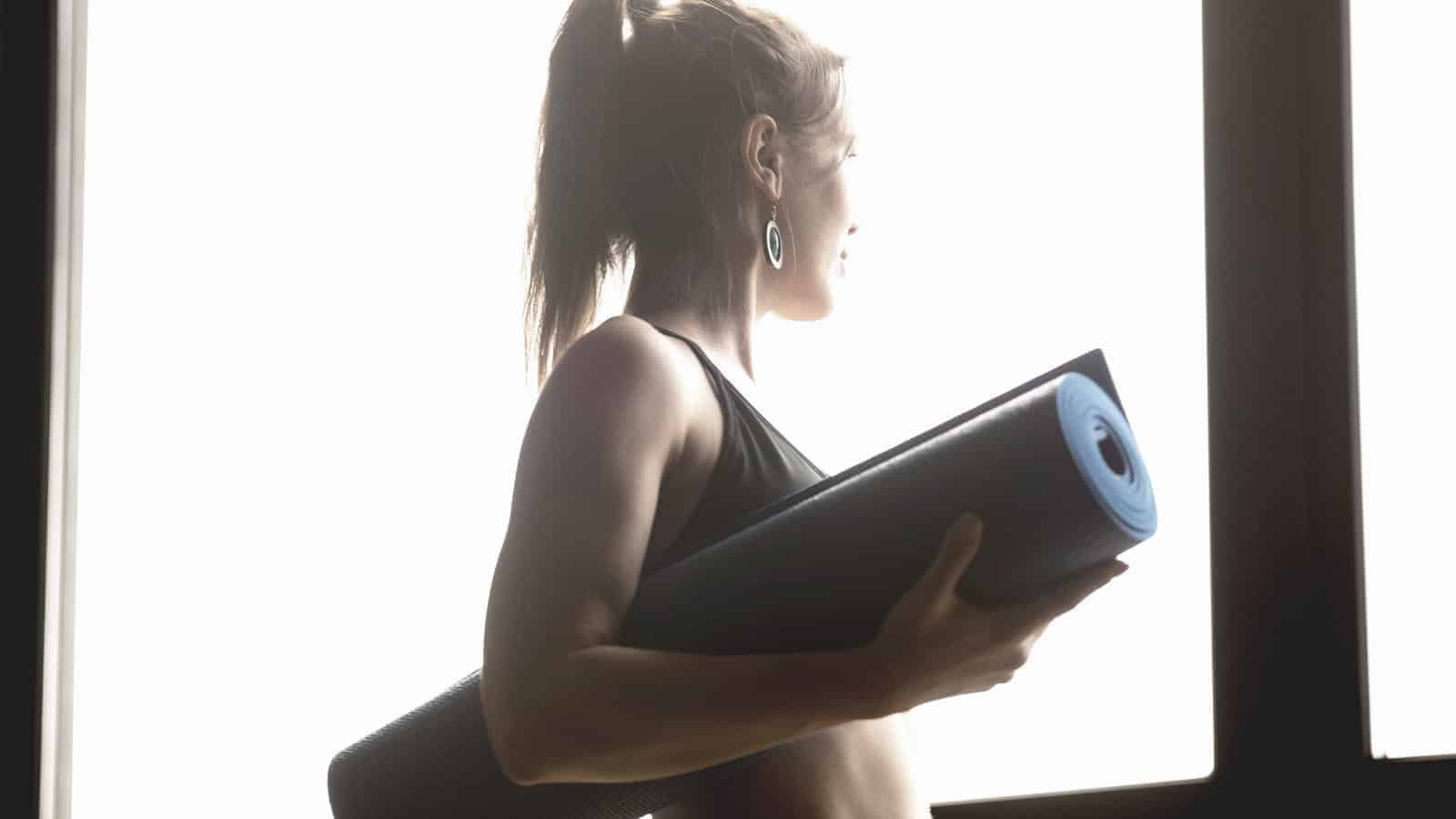 when to replace yoga mat