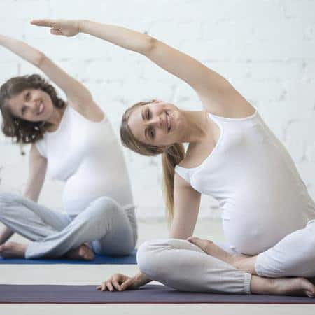 what to expect prenatal yoga