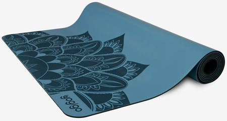 Natural rubber sustainable yoga mat by yogigo