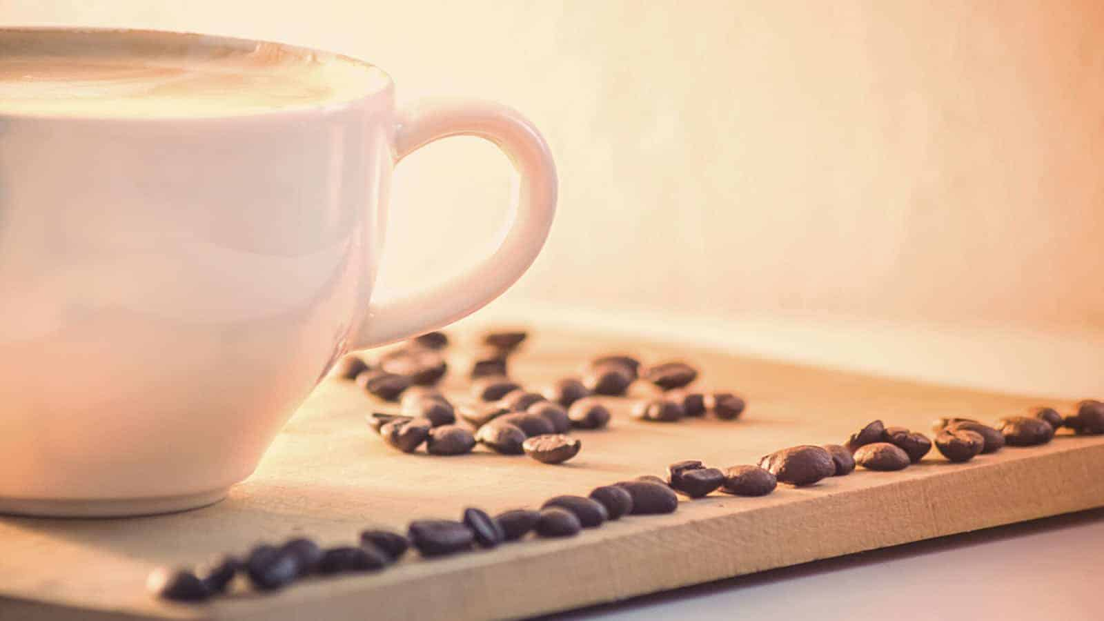 Have coffee before meditation to have better exxperience