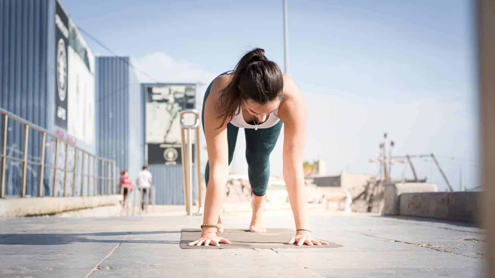 Yoga mat too thin how to solve